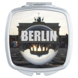 BERLIN Brandenburg Gate sunset Compact Mirror