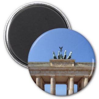 Berlin Brandenburg Gates 6 Cm Round Magnet