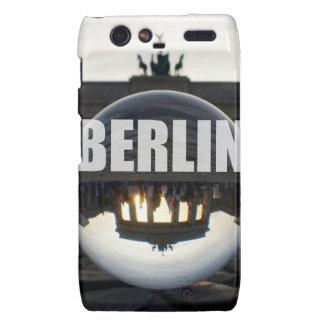 BERLIN Brandenburger Tor, Brandenburg Gate sunset Motorola Droid RAZR Cover