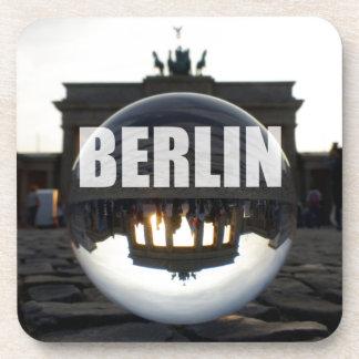 BERLIN Brandenburger Tor, Brandenburg Gate sunset Coaster