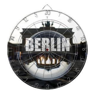 BERLIN Brandenburger Tor, Brandenburg Gate sunset Dart Boards