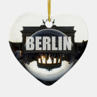 BERLIN Brandenburger Tor, Brandenburg Gate sunset Christmas Ornament