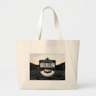 BERLIN Brandenburger Tor, Brandenburg Gate sunset Jumbo Tote Bag