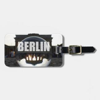 BERLIN Brandenburger Tor, Brandenburg Gate sunset Travel Bag Tag