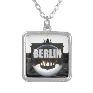 BERLIN Brandenburger Tor, Brandenburg Gate sunset Personalized Necklace
