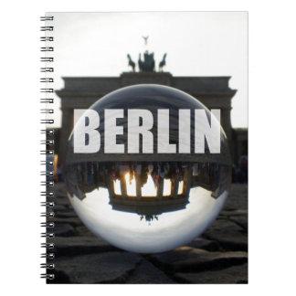 BERLIN Brandenburger Tor, Brandenburg Gate sunset Notebooks