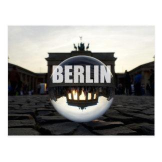 BERLIN Brandenburger Tor, Brandenburg Gate sunset Postcard