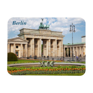 Berlin Brandenburger Tor Rectangular Photo Magnet