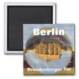 Berlin, Brandenburger Tor Square Magnet