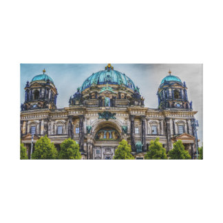Berlin Cathedral canvas