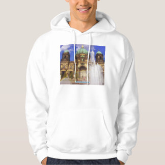 Berlin Cathedral Dom, Germany Hooded Pullovers