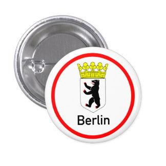 Berlin city arms 3 cm round badge