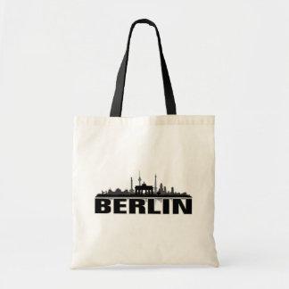 Berlin city of skyline - gift idea tote bag