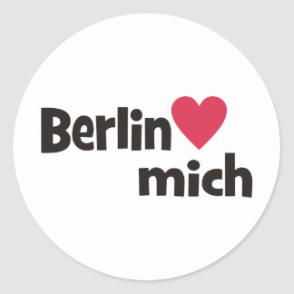 Berlin Classic Round Sticker