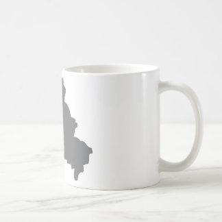 Berlin contour icon coffee mug