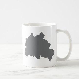 Berlin contour icon mugs