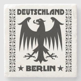 Berlin Deutschland Eagle Emblem Stone Coaster