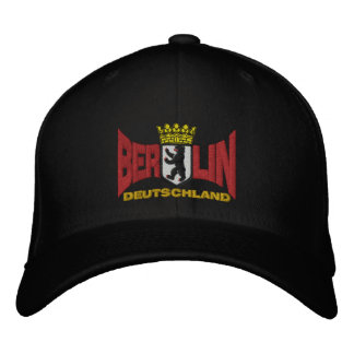 Berlin, Deutschland Embroidered Baseball Caps