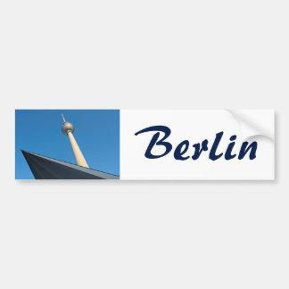 Berlin Fernsehturm Bumper Sticker