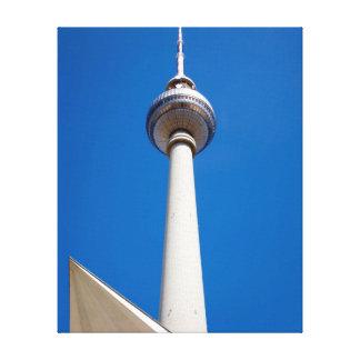 Berlin Fernsehturm Canvas Print