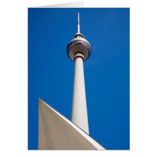 Berlin Fernsehturm Card