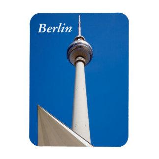 Berlin Fernsehturm Rectangular Photo Magnet