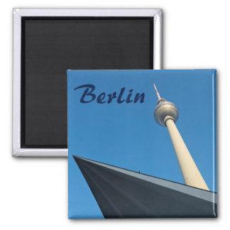 Berlin Fernsehturm Square Magnet