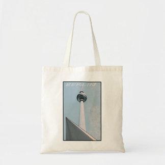 Berlin Fernsehturm Tote Bag