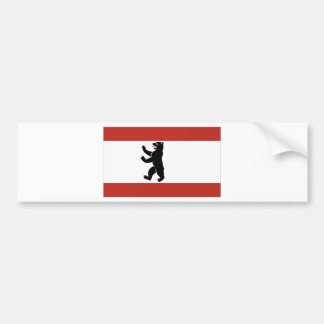Berlin flag bumper sticker