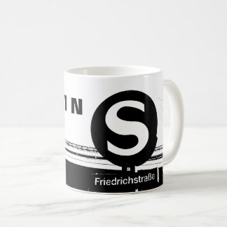 BERLIN Friedrichstrasse_01.01.3.T_G_illu, S-Bahn Coffee Mug