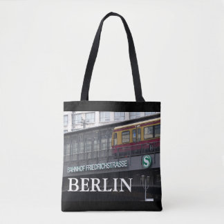 Berlin Friedrichstrasse, Station, Germany 001.02 Tote Bag