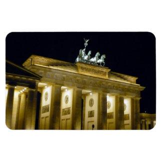 berlin gate rectangular photo magnet