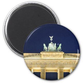 Berlin, Germany 6 Cm Round Magnet