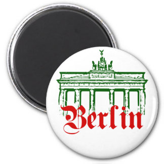 Berlin Germany 6 Cm Round Magnet
