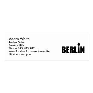 Berlin Germany Business Card
