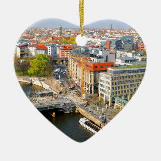 Berlin, Germany Ceramic Heart Decoration