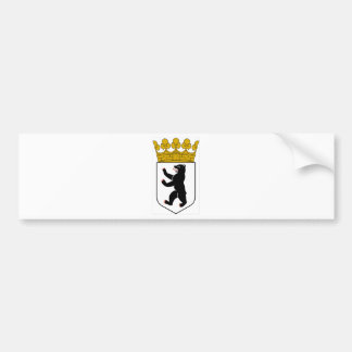 Berlin (Germany) Coat of Arms Bumper Sticker
