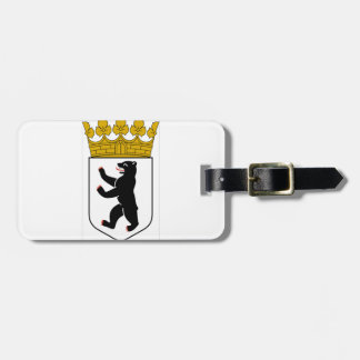 Berlin (Germany) Coat of Arms Luggage Tag