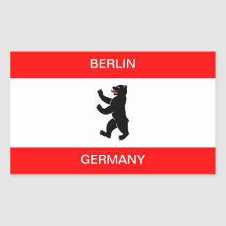 Berlin Germany flag sticker