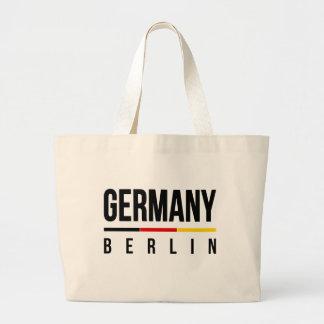 Berlin Germany Large Tote Bag