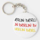 Berlin, Germany Logo Souvenir Basic Round Button Key Ring