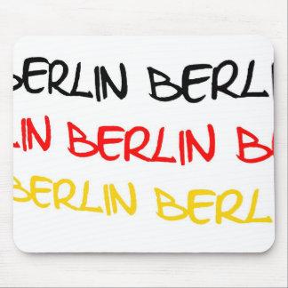 Berlin Germany Logo Souvenir Mousepad