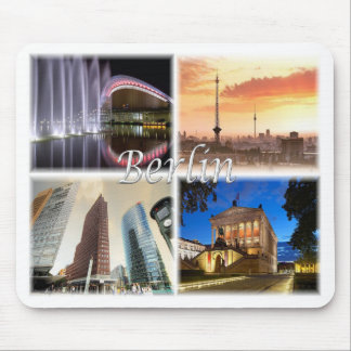 Berlin Germany Mouse Pad