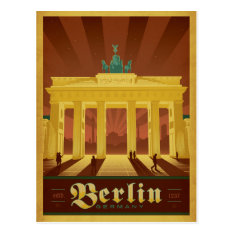 Berlin, Germany Postcard at Zazzle