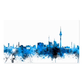 Berlin Germany Skyline Business Card
