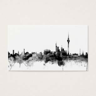 Berlin germany business cards business card printing zazzle uk berlin germany skyline business card reheart Choice Image