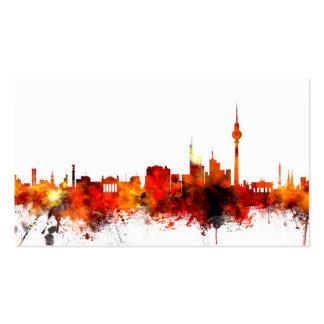 Berlin Germany Skyline Business Cards