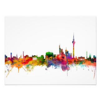 Berlin Germany Skyline Photo Art