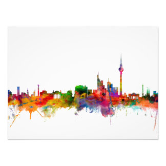 Berlin Germany Skyline Photo Print