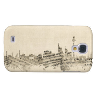 Berlin Germany Skyline Sheet Music Cityscape Galaxy S4 Case